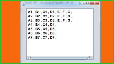 Display Multidimensional Array Vaues Using Java