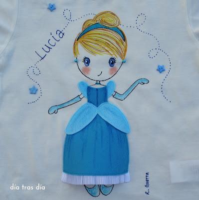 Camisetas princesas