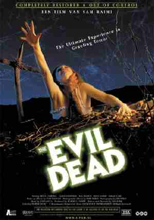 Poster Of The Evil Dead 1981 UnRated 720p Hindi BRRip Dual Audio Full Movie