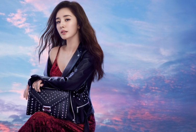 Yang Mi stars in Michael Kors x Yang Mi 'Whitney' handbag campaign