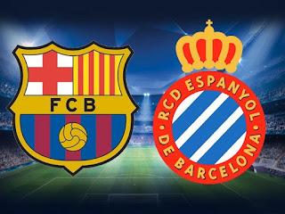 لعبة برشلونة اسبانيول مباشر بدون تقطيع