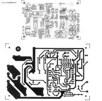 300Watt Inverter circuit diagram pcb layout design