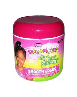 cera African Pride Dream Kids Olive Miracle Smooth Edges Anti- Frizzy Conditioning Gel