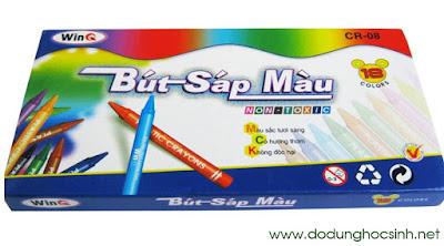 Bút sáp màu WinQ CR-08 - 18 màu