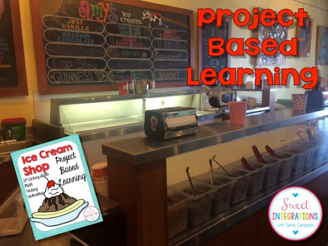 Looking for ideas for the end of the year? Try this fun PBL unit with your students. They will love opening their very own ice cream shop.