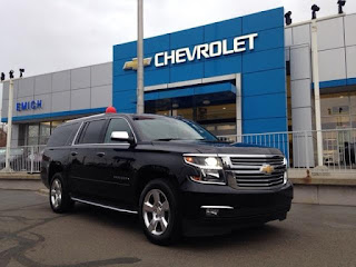 Certified PreOwned 2016 Chevy Suburban LTZ at Emich Chevrolet