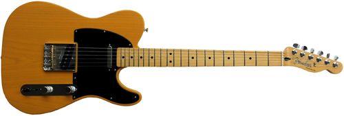 Propiedades Estándar Guitarra Telecaster