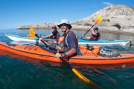 kayak en Puerto Pirámides Península Valdés