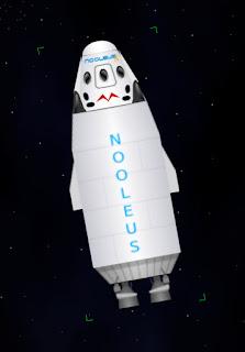 Nooleus-D in space
