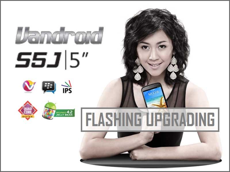 Flashing Firmware Advan S5J Broadcom