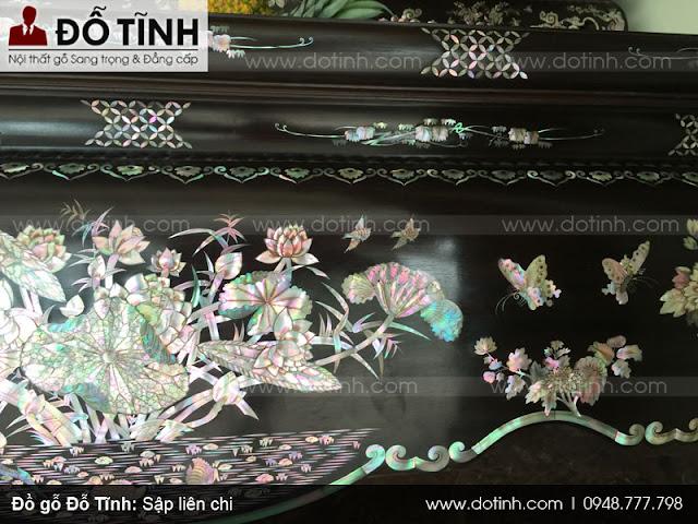 Sập liên chi - Sập gỗ cao cấp Nam Định