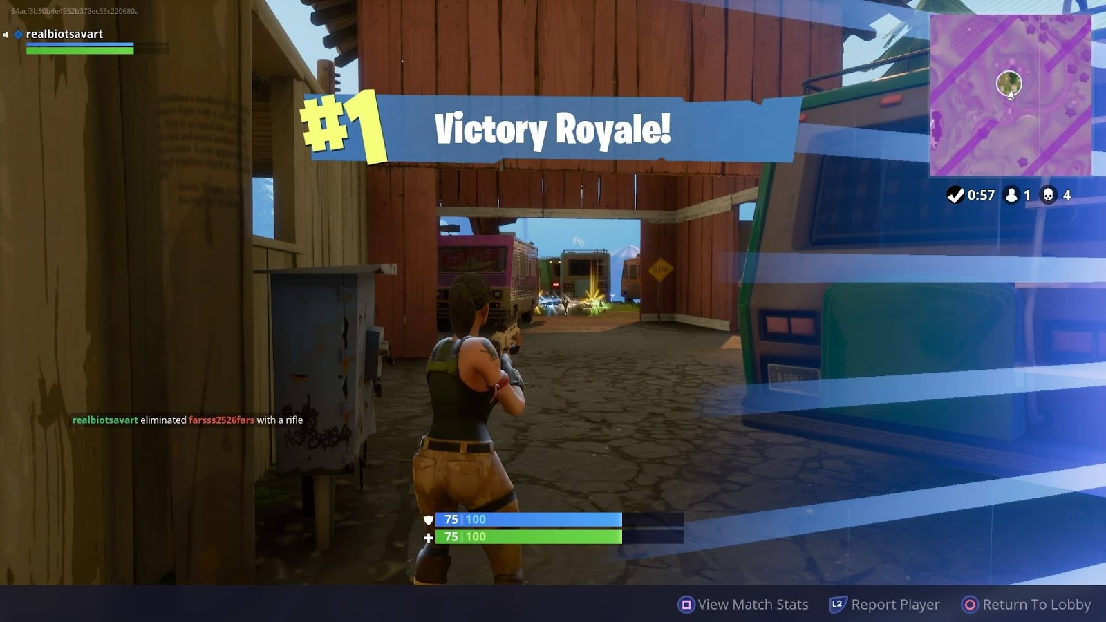 all you have to do is remember some good places to land and gather some rifles and shields then camp in the bushes like a boss then run like the wind with - how to get wins in fortnite solo