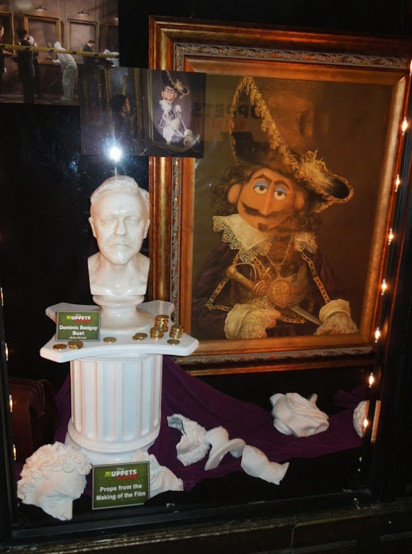 Colonel Thomas Blood painting prop Muppets Most Wanted
