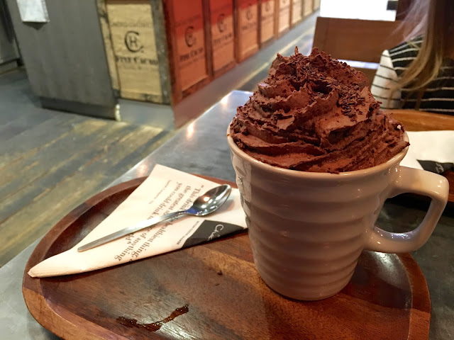 Hotel Chocolat Cafe Liverpool Hot Chocolate