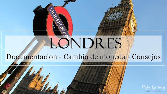 viaje londres london cambio divisas monedas libras brexit