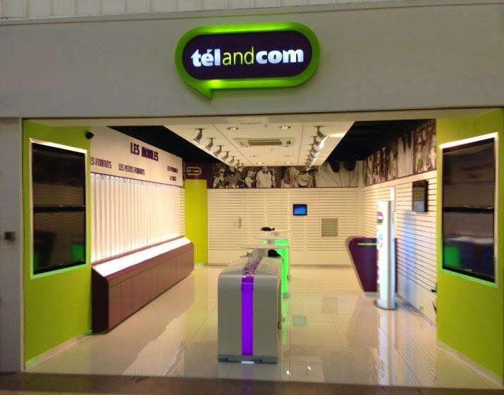jacques lenain architecte lille am nagement du magasin telandcom a metz. Black Bedroom Furniture Sets. Home Design Ideas