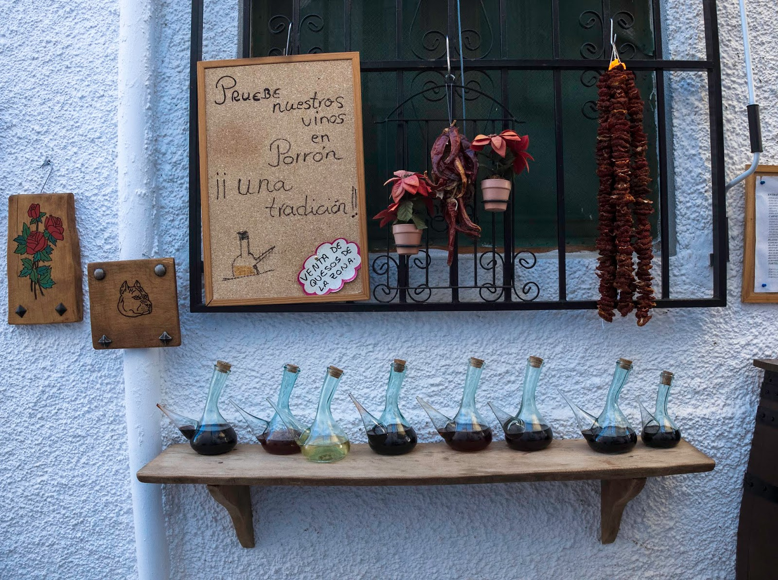 Porrón en Alpujarra de Granada. 2016