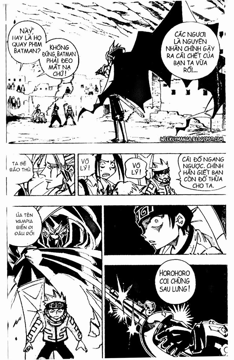 Shaman King [Vua pháp thuật] chap 96 trang 15