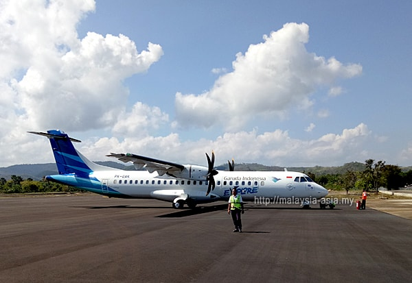 Garuda Airlines Propeller Planes