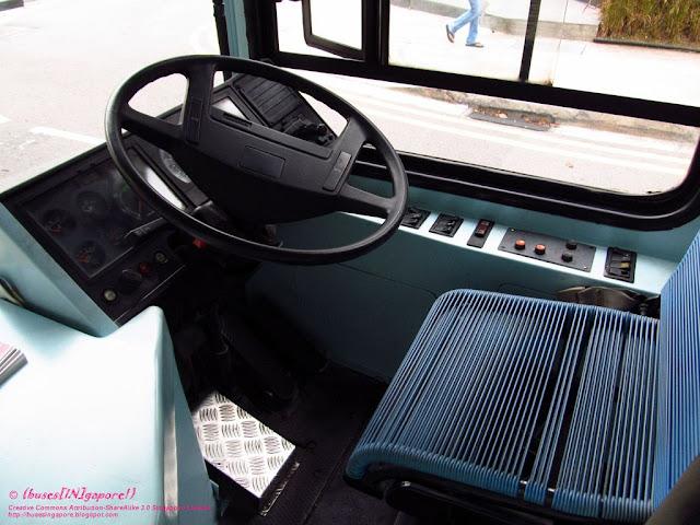 Buses In Gapore Ym6115z I Love Children Bus