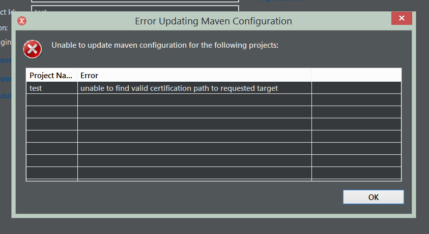 maven compiler plugin dependency could not be resolved