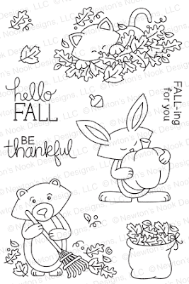 Hello Fall Stamp set by Newton's Nook Designs