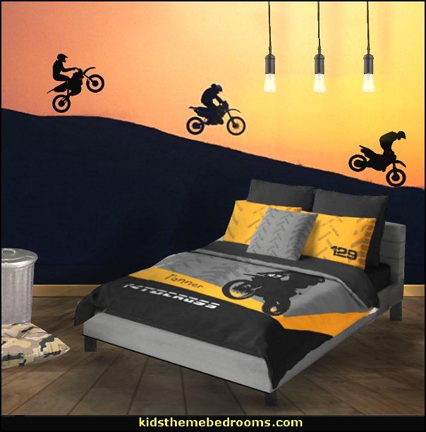 Motocross Bedroom Ideas Dirt Bike Room Decor Dirt Bike Wall Art