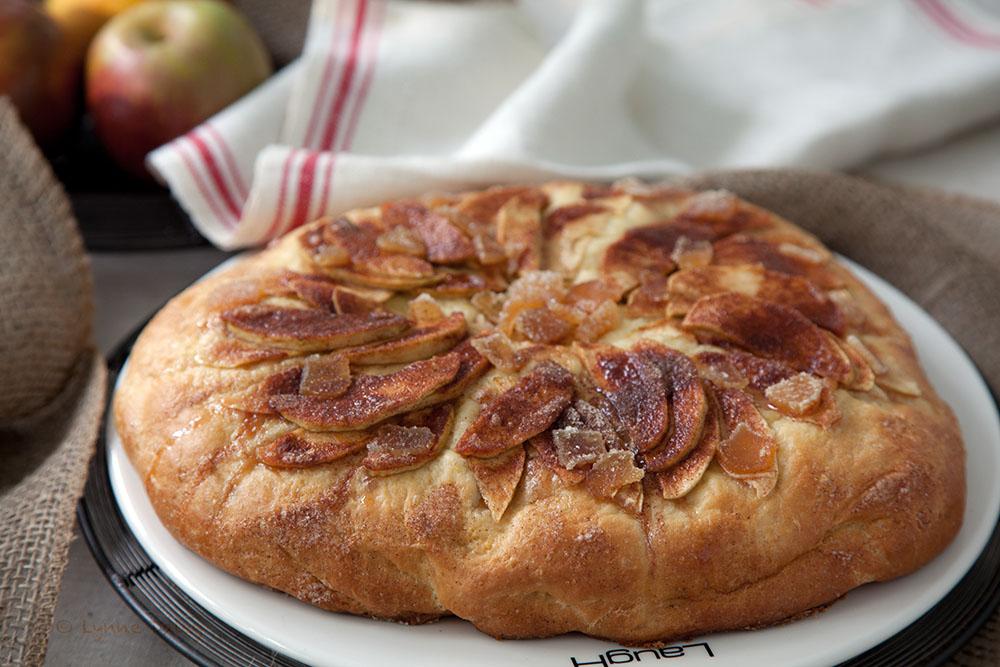 Bavarian Apple Cake