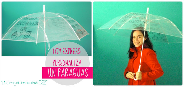 DIY EXPRESS: personaliza un paraguas