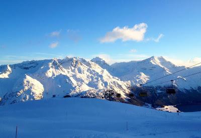 Estação de esqui de St. Moritz - Suiça
