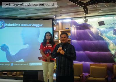 KukuBima Ener-G! Perkenalkan Hiu Paus di Pantai Botubarani Gorontalo