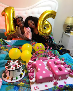 Mercy Aigbe's Daughter Celebrates 16th Birthday - See Photos