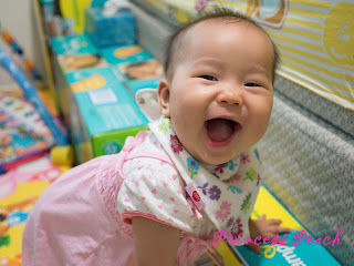 開懷大笑的茉莉