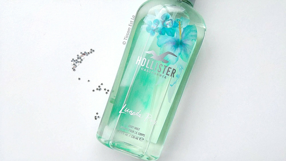 Brume Hollister, Equivalenza, Brume Equivalenza, Hollister Body mist, hollister body mist review, avis brume hollister, Silver Strand Beach, Lunada Bay, Solana Beach, Crescent Bay, Cool Crystal Shores