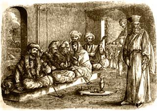 arabes y cafe