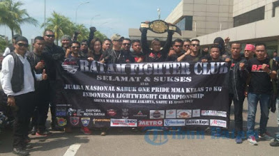 batam fighter club seleksi the rising of scorpions warrior