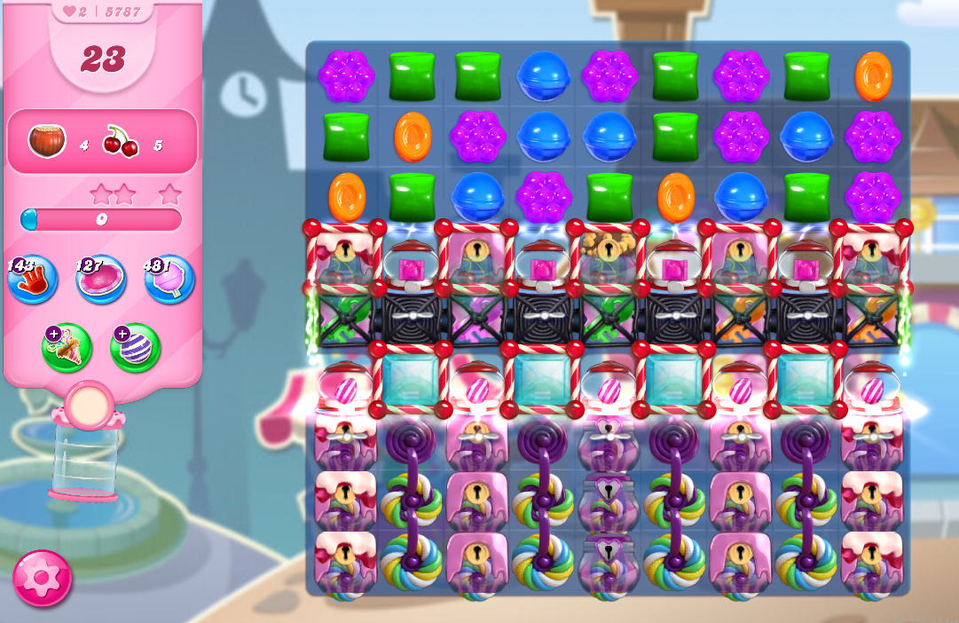 Candy Crush Saga level 5787