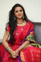 Manasa in Pink Salwar At Fashion Designer Son of Ladies Tailor Press Meet Pics ~  Exclusive 41.JPG