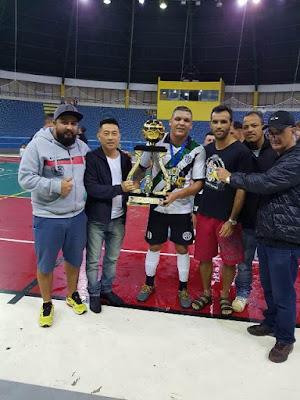 Giocar/Sacolão Kiko é Campeão do Interfirmas de Futsal em Registro-SP