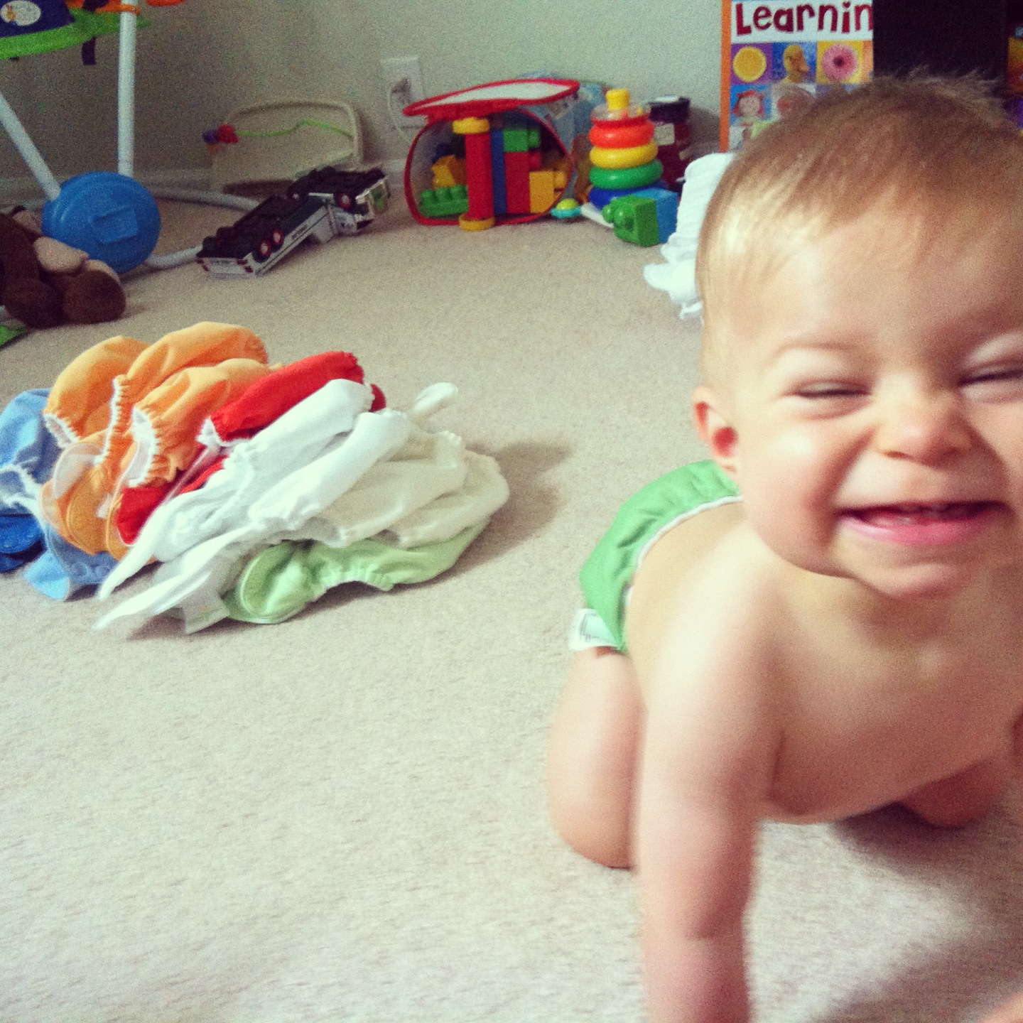 The Inside Scoop: Cloth Diapers...what??