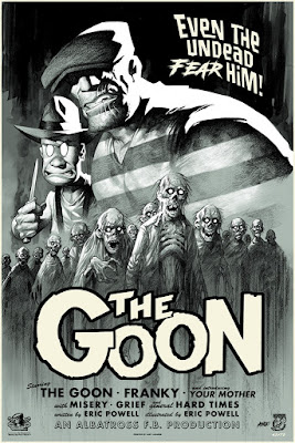 The Goon Screen Print by Eric Powell x Mondo