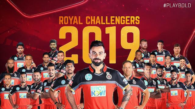 Royal-Challengers-Bangalore-Team-2019-IPL