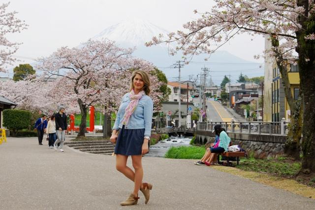 Fujinomija - odpoczynek pod wulkanem Fudżi