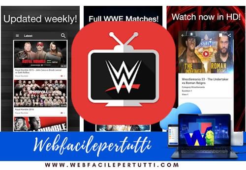 WWE TV - Applicazione per vedere il meglio del Wrestling on demand in HD