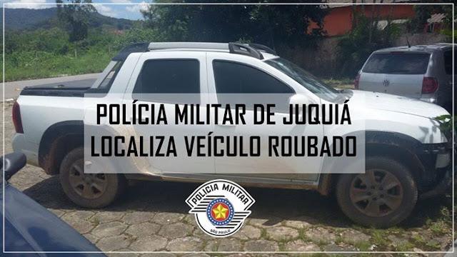 POLÍCIA MILITAR DE JUQUIÁ REGISTRA OCORRÊNCIA DE RECEPTAÇÃO