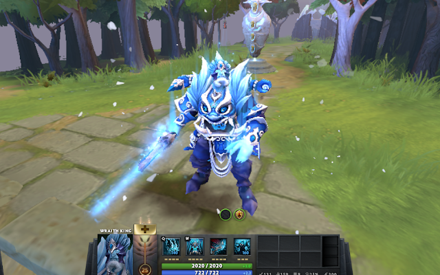 Mod Winter ice Wraith King