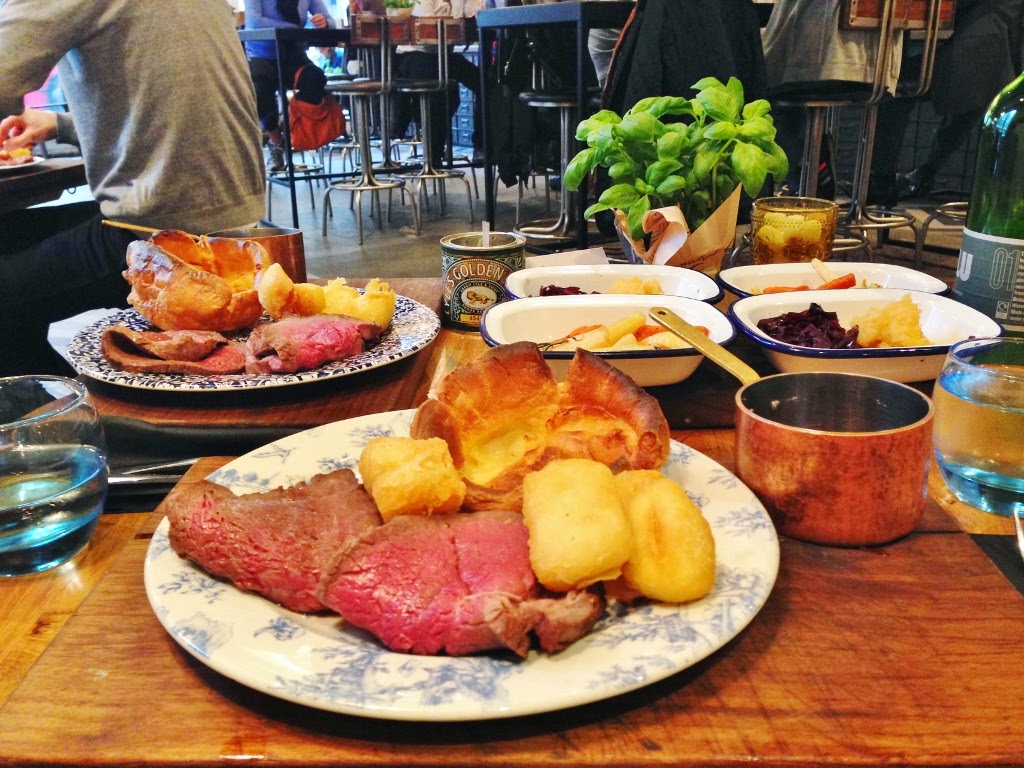 sunday roast london
