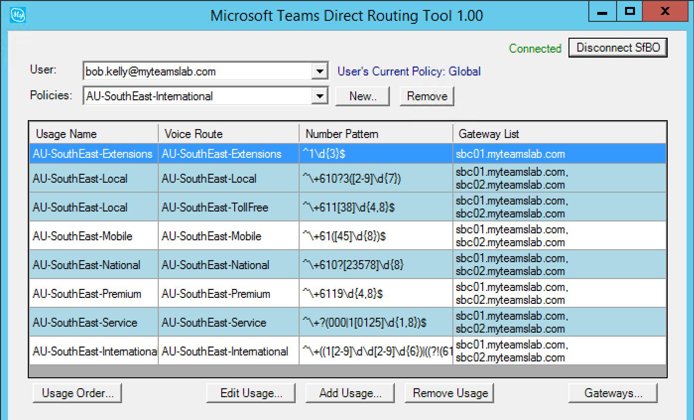 Microsoft Teams Direct Routing Tool | My Skype Lab