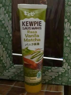 review Kewpie Saus Manis rasa Vanilla matcha, enak enggak sih?
