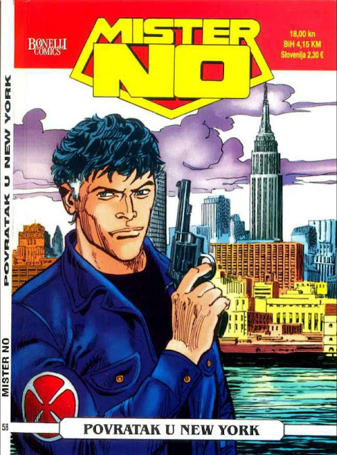 Povratak u New York - Mister No